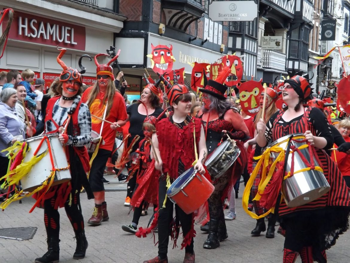 Midsummer Watch Parade Chester 2015