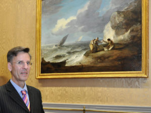 Paintings by Gainsborough and Claude go on display