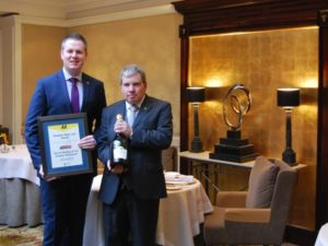 The Chester Grosvenor received AA Notable Wine List Award