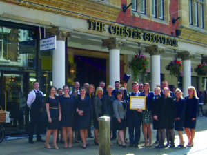 The Chester Grosvenor celebrates a sensational Summer