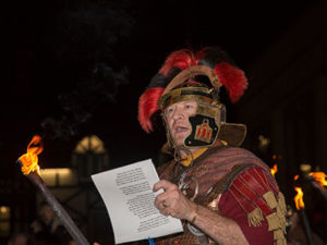 Chester's Roman Saturnalia Parade is joined by the Winter Watch