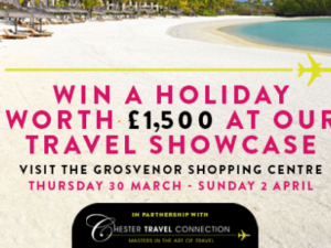 'Get Holiday Ready' with The Grosvenor Shopping Centre