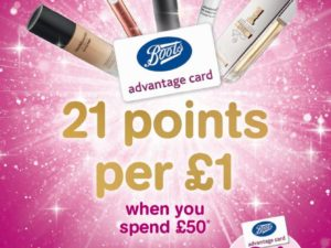 Boots Advantage Card Event