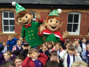 CH1BID elves bring festive cheer to Chester school