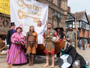 Retailers report surge in footfall at Chester Unlocked launch