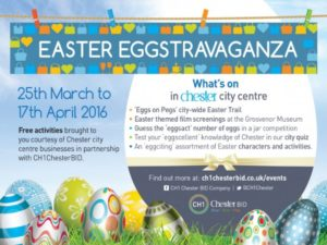 Egg-citing FREE Easter activities in Chester