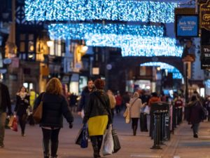 Black Friday weekend helps deliver 8% spike in city visitor numbers during November