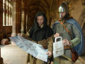 Historical characters help city prepare for Deva Codex Wolf Quest