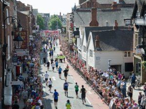CH1ChesterBID bags city centre finish for Chester Half Marathon