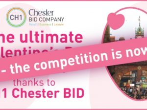 Win the ultimate Valentine's Day, thanks to CH1ChesterBID