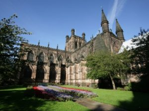 Chester Cathedral are encouraging Chester businesses to help end slavery and fight exploitation.