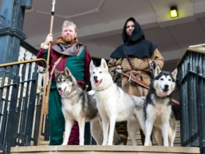 Launch weekend of medieval quest attracts hundreds to Chester