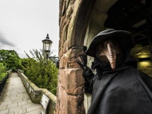 "Historic Chester towers transformed into gory new family attraction ""Sick to Death"""