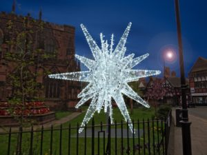 Show-stopping Christmas star set to sparkle in Chester