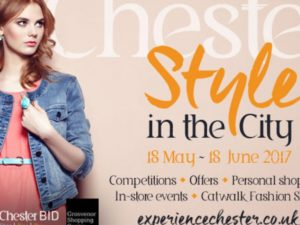 'Style in the City' celebration in Chester