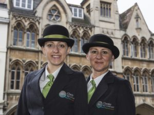 Chester's Welcome Ambassadors hit 15,000 visitor milestone