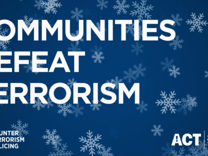 Working together with communities, Counter Terrorism Policing wants Christmas security all wrapped up