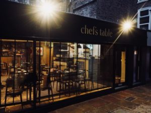 The Chef's Table: Lunch Offer