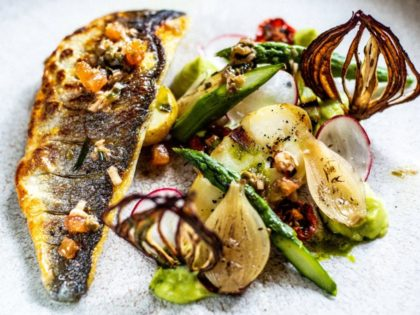 Upstairs at the Grill: 3 course lunch £19