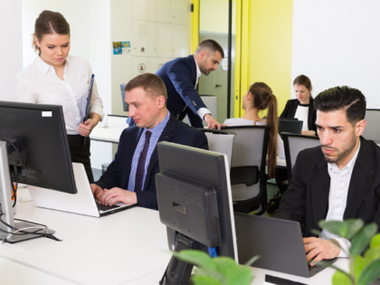 Making your open plan office work for you by A Plan Insurance