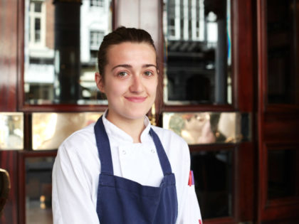 THE CHESTER GROSVENOR COMMIS CHEF NAMED APPRENTICE OF THE YEAR