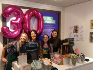 Chester Sales Assistant celebrates 30 years in store