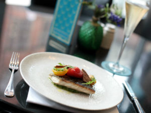 The Chester Grosvenor: 2 course lunch with a glass of chilled Taittinger Champagne £25pp