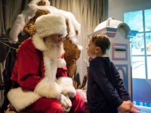 Santa's back and he has some stories to tell…