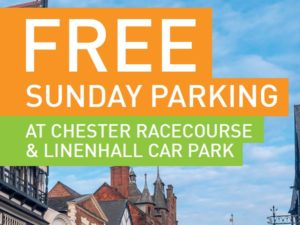 Free parking in Chester is back for 2020