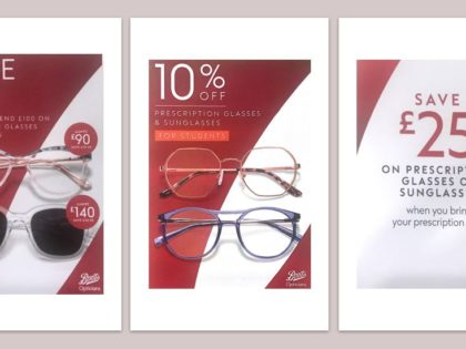 Boots Opticians – Offers on Prescription Glasses and Sunglasses