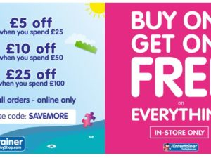 The Entertainer – BOGOF and Discounts!