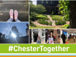 Emily's Urban Adventure in Chester city centre