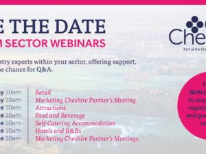 Marketing Cheshire sector specific webinar series