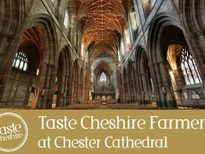 Chester Cathedral Features in Food and Drink Week
