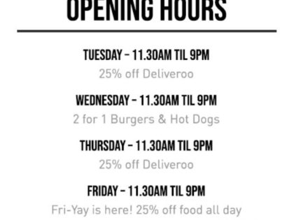 Discounts and deliveries from Burger Shed 41