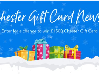 Christmas Competition Launches for a chance to win a £1500 Chester Gift Card